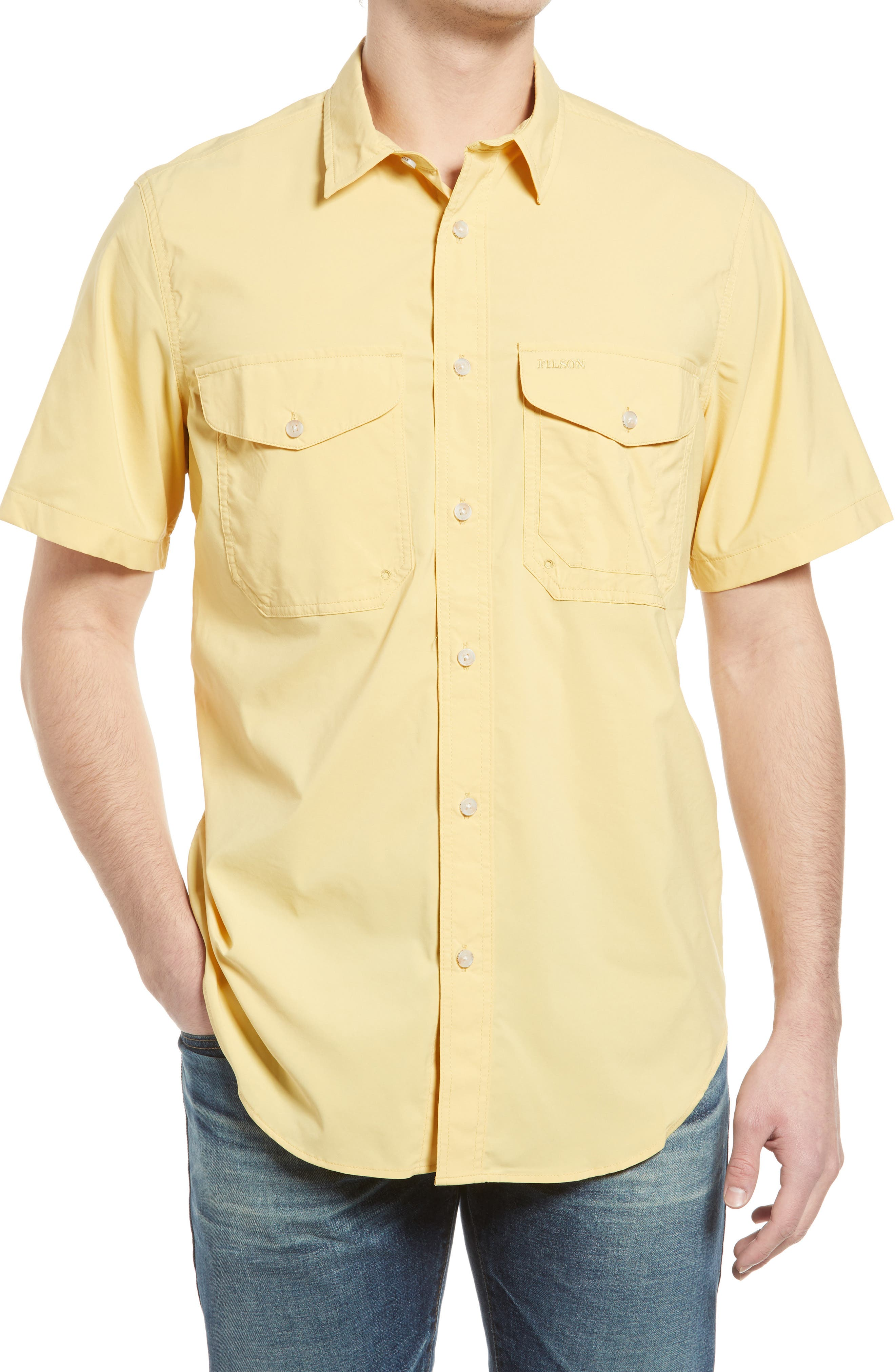 Twin Lakes Regular Fit Plaid Button-Up Shirt