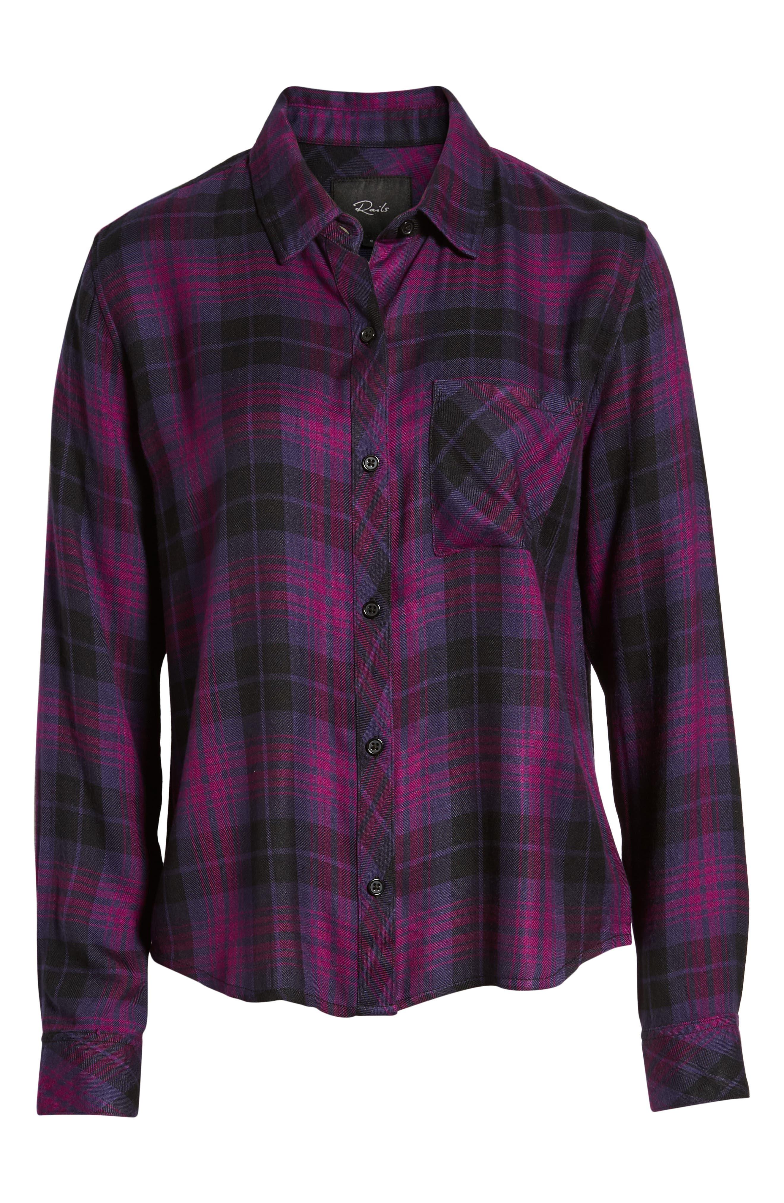 ,                             Hunter Plaid Shirt,                             Alternate thumbnail 402, color,                             501