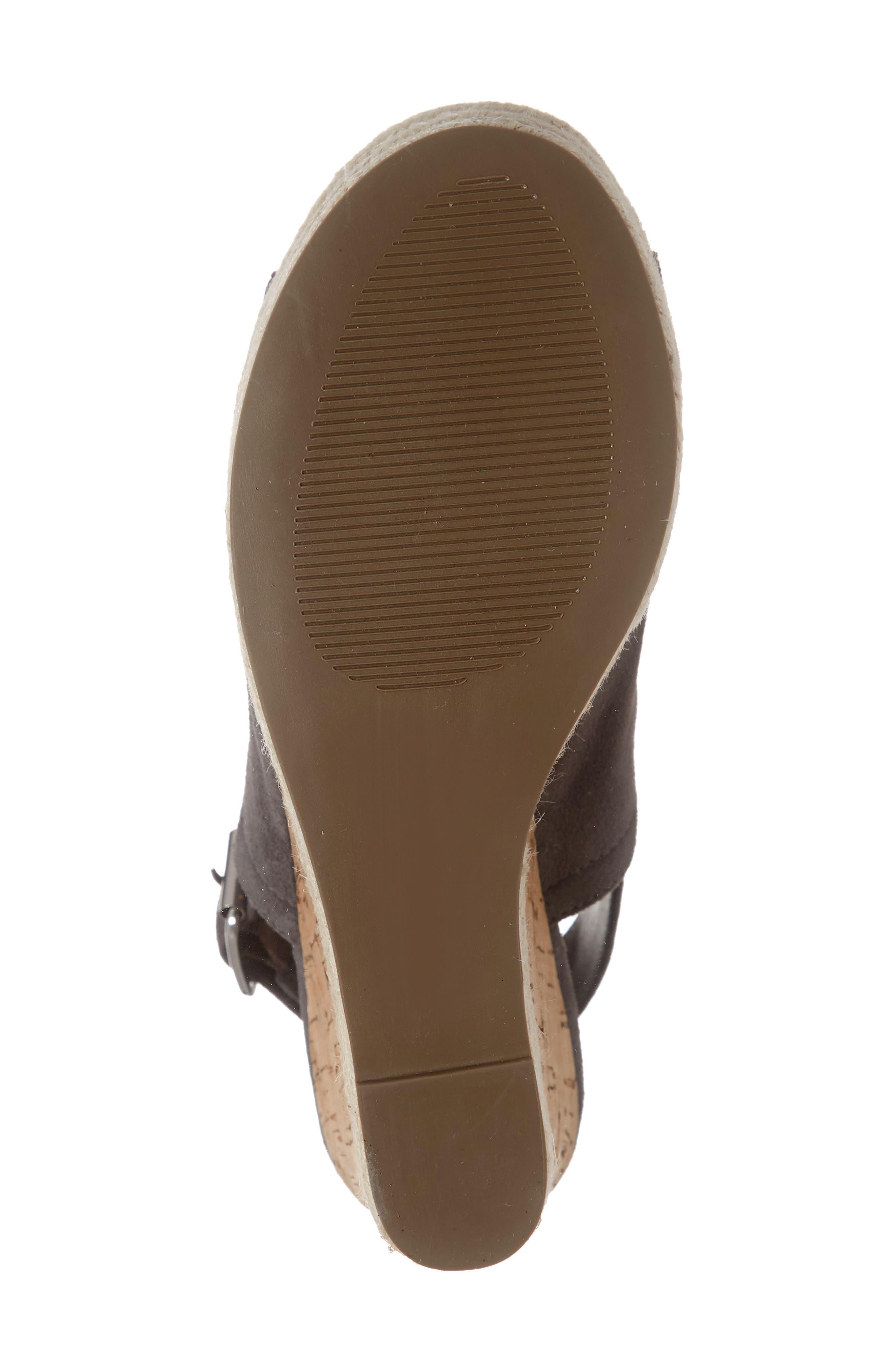 ,                             Giver Espadrille Wedge Sandal,                             Alternate thumbnail 12, color,                             020
