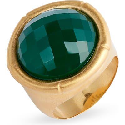 Dean Davidson Bamboo Style Stone Ring