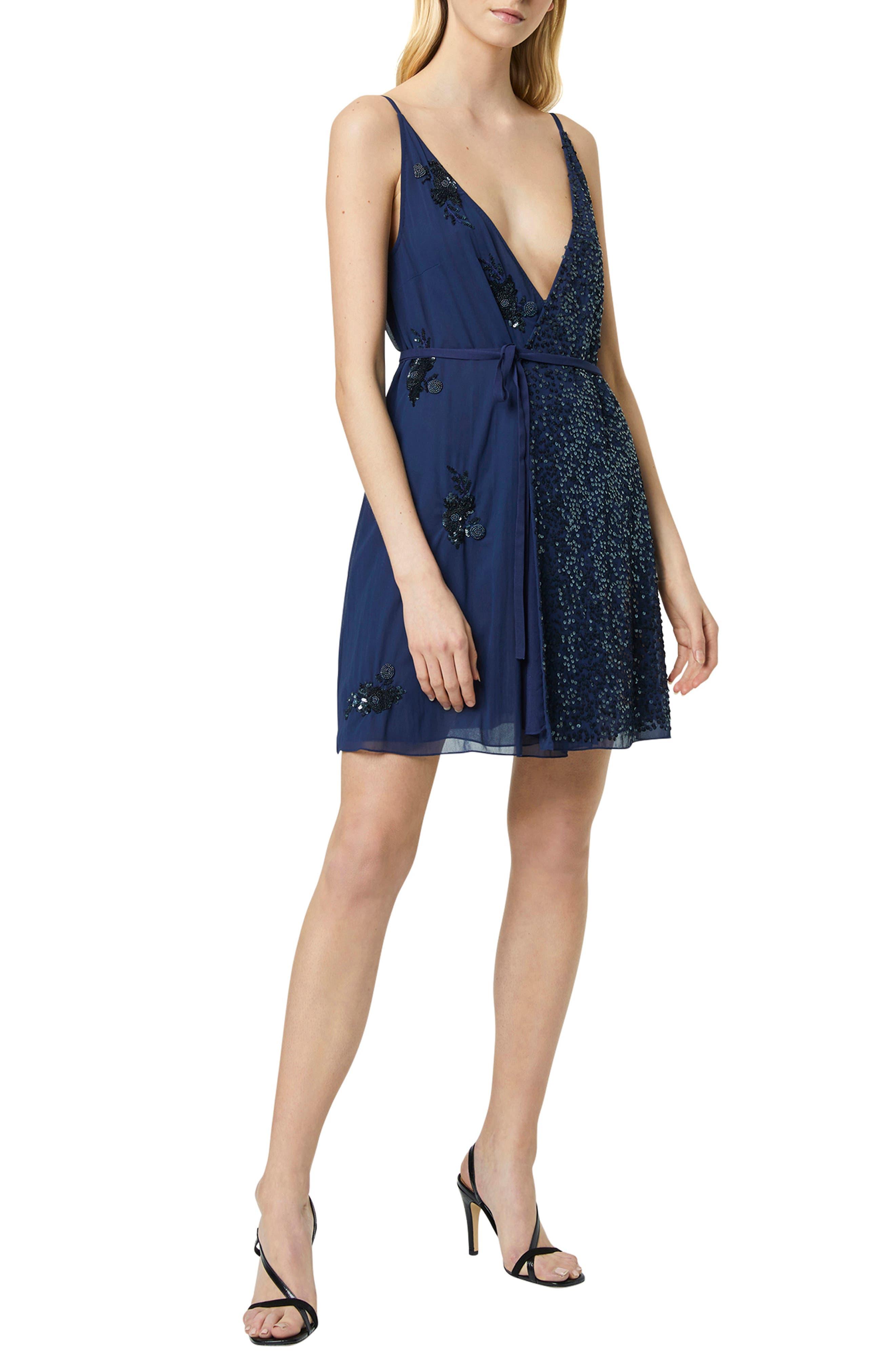 Image of French Connection Aurora Embellished Dress