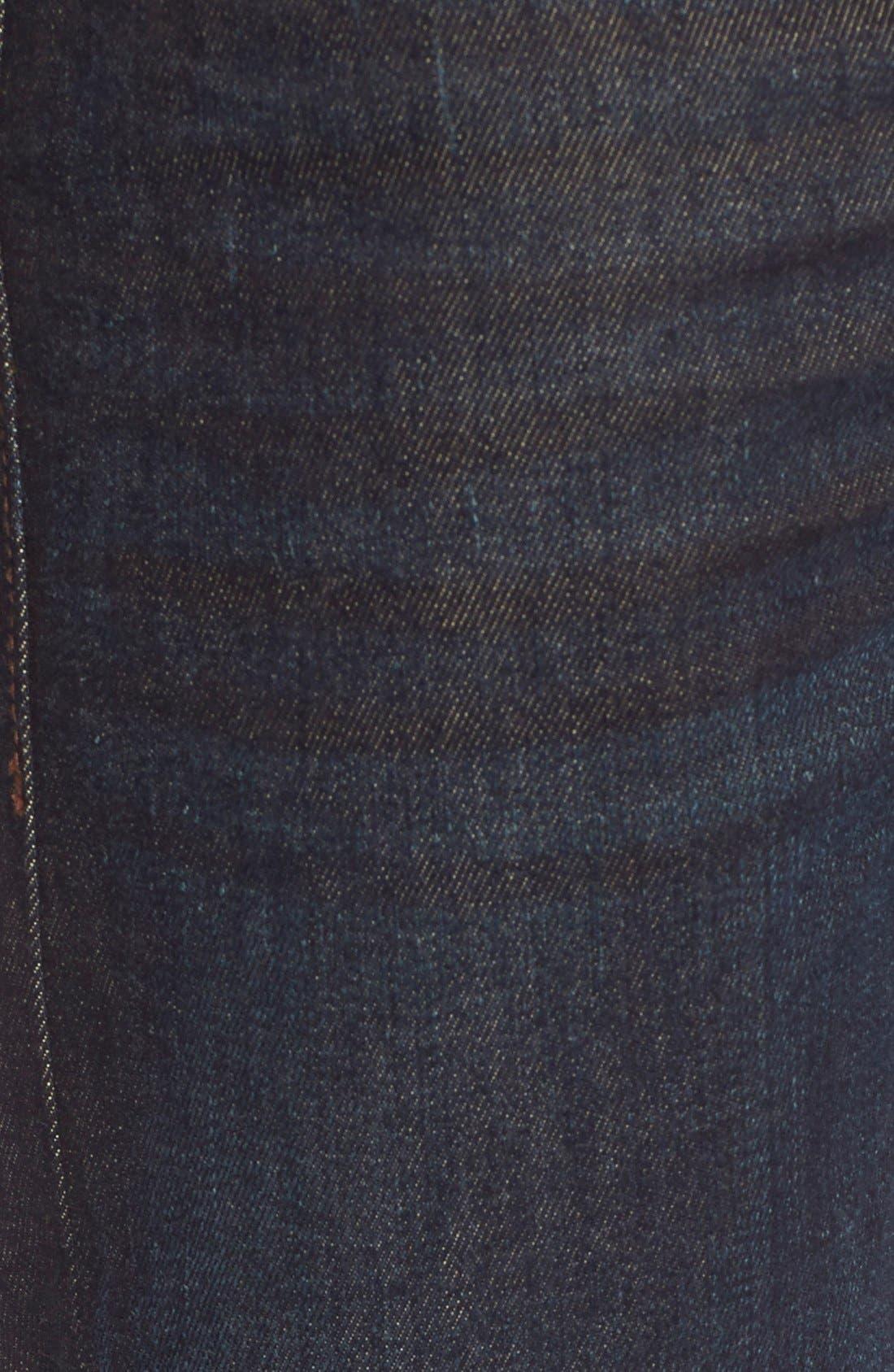 ,                             'Buster' Slim Straight Leg Jeans,                             Alternate thumbnail 5, color,                             400