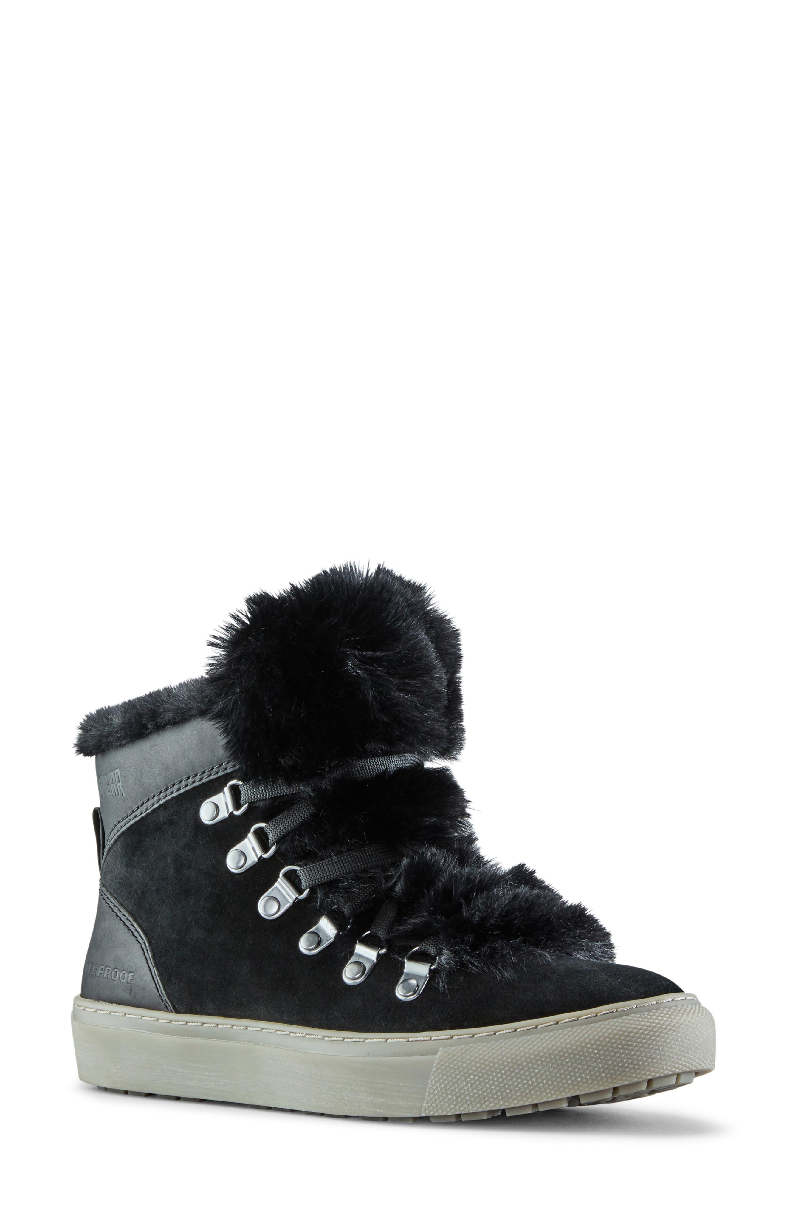 Daniel Faux Fur Trim Waterproof Boot