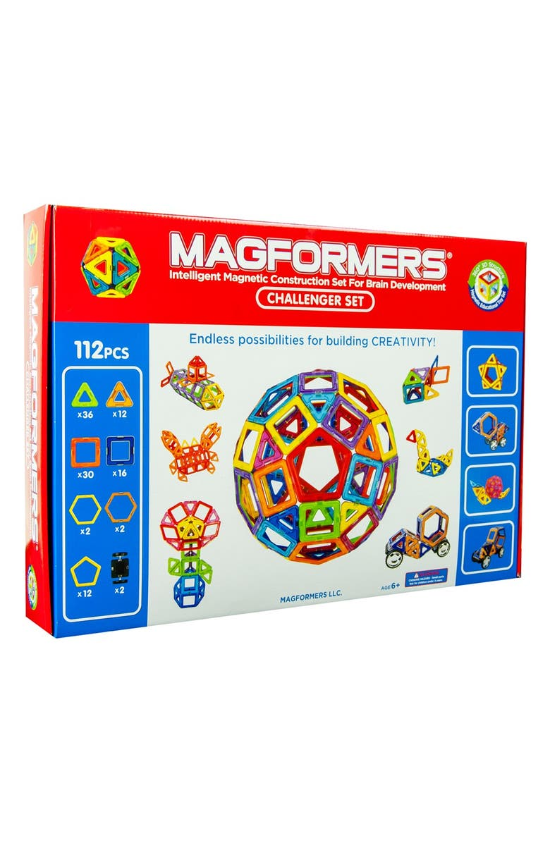 MAGFORMERS 'Challenger' Construction Set, Main, color, MULTI