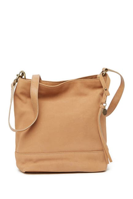 Image of Lucky Brand Lina Small Leather Bucket Bag