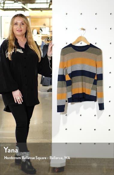 Stripe Merino Wool Sweater, sales video thumbnail