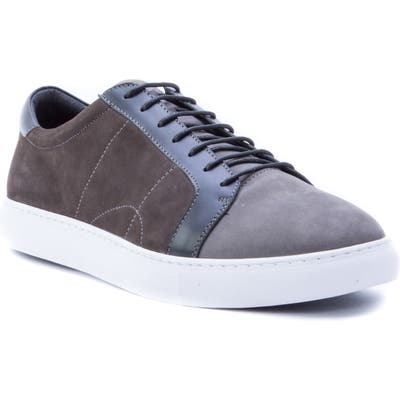 Robert Graham Gonzalo Low Top Sneaker- Grey