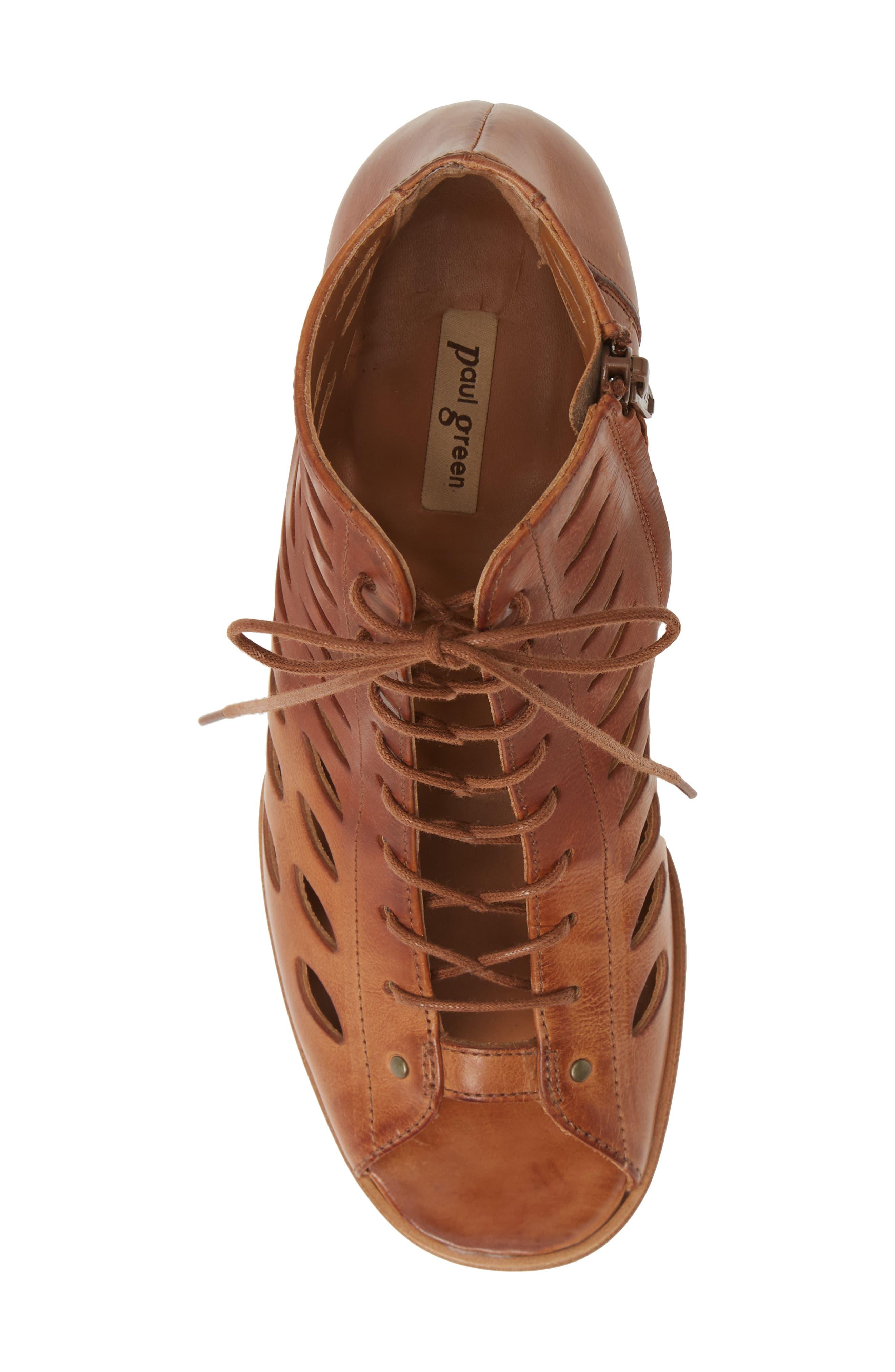 Paul Green   Bali Lace-Up Bootie Sandal