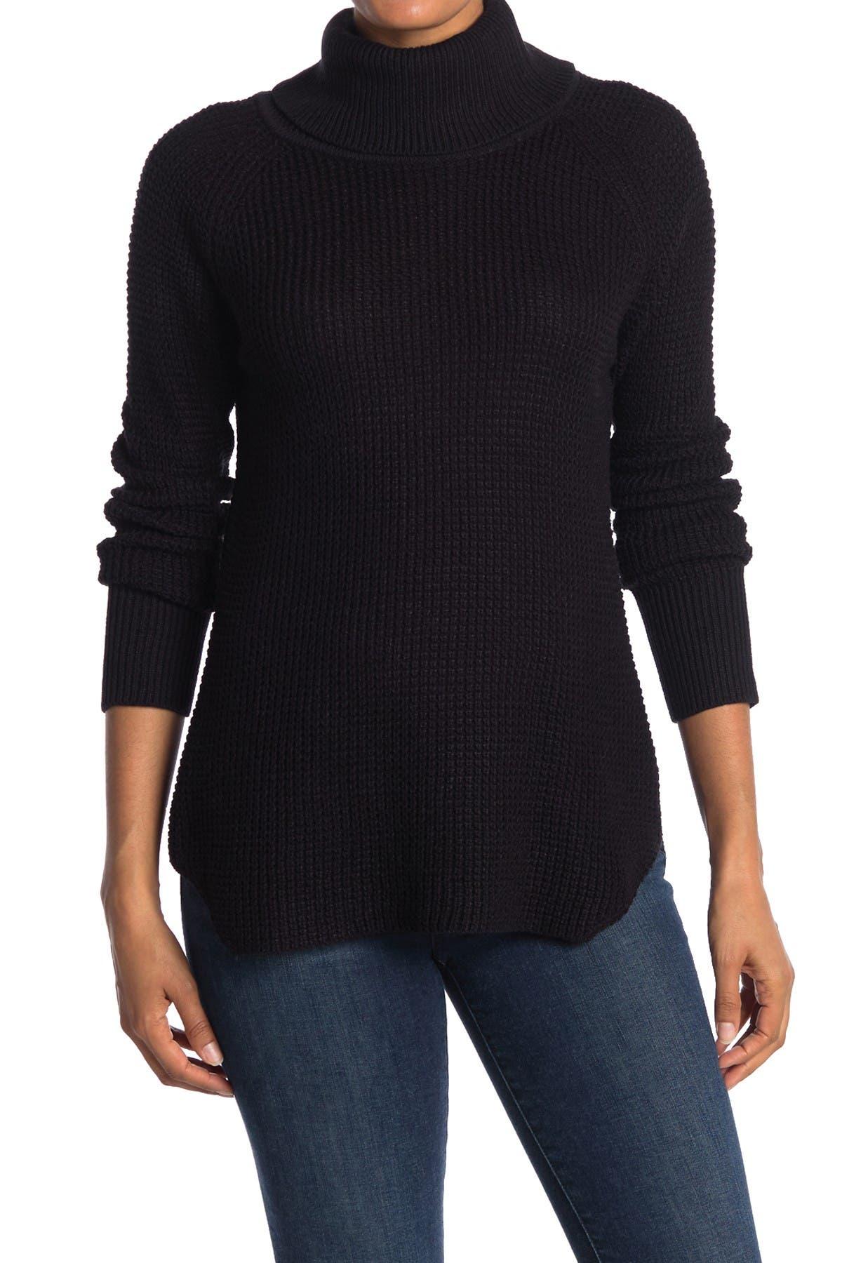 Image of Cloth By Design Turtleneck Raglan Sleeve Sweater