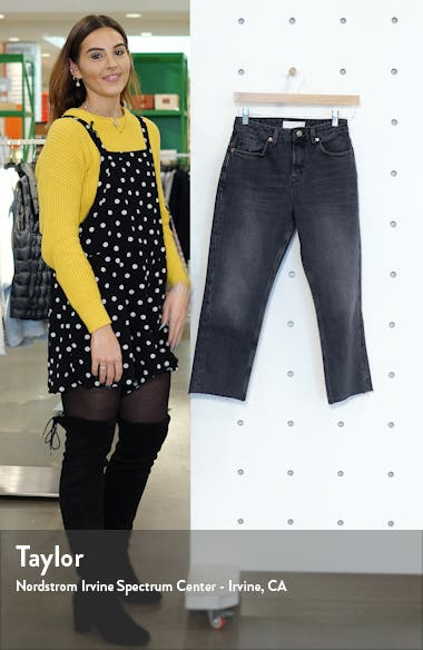Raw Hem Mom Jeans, sales video thumbnail