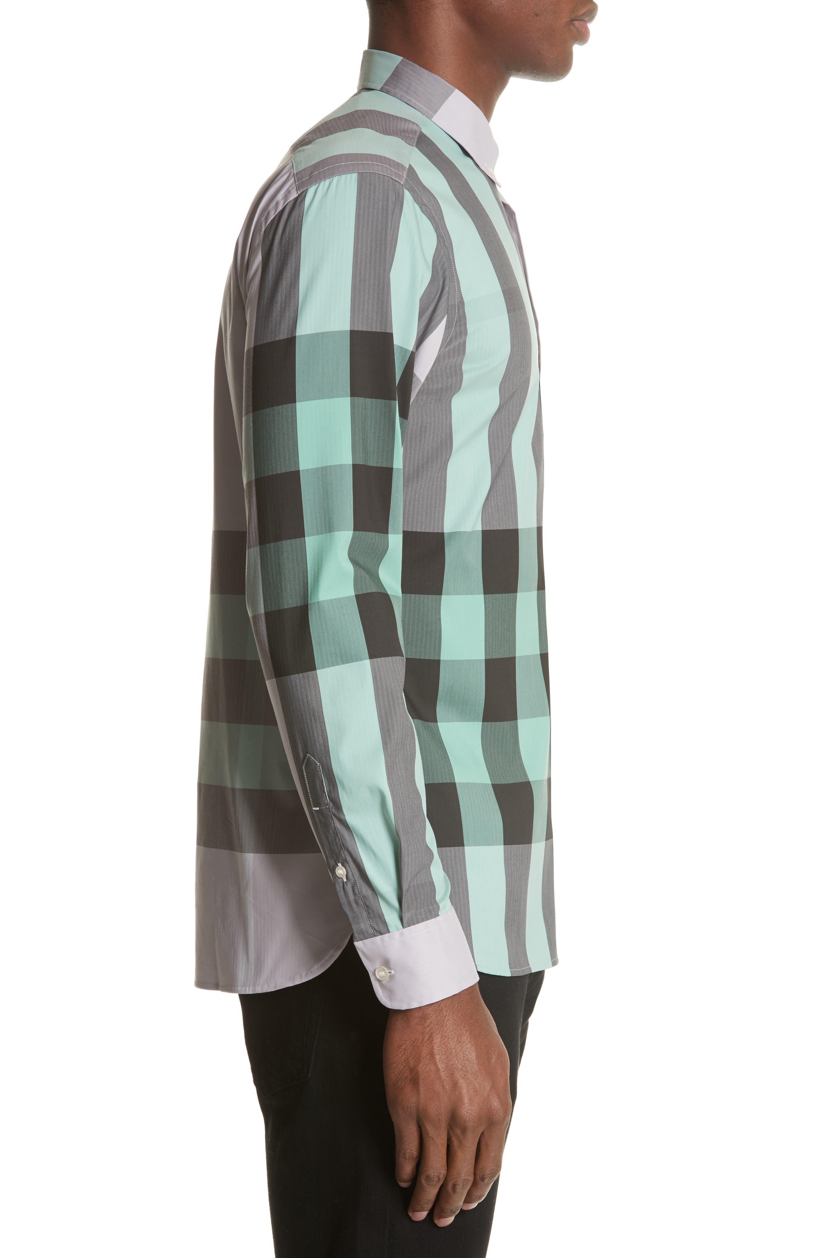 ,                             Thornaby Slim Fit Plaid Sport Shirt,                             Alternate thumbnail 42, color,                             510