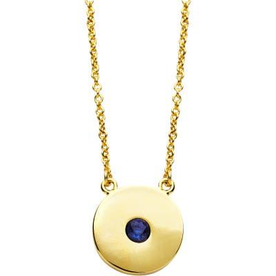 Sterling Forever Birthstone Necklace