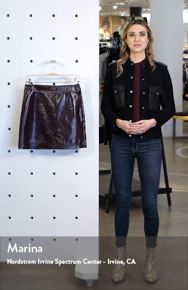 Faux Patent Miniskirt, sales video thumbnail