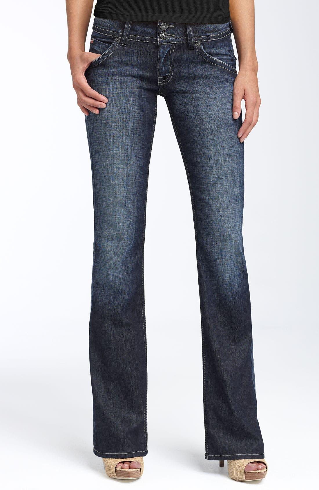 ,                             Signature Flap Pocket Bootcut Jeans,                             Main thumbnail 66, color,                             470