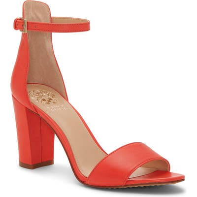 Vince Camuto Corlina Ankle Strap Sandal- Red (Nordstrom Exclusive)