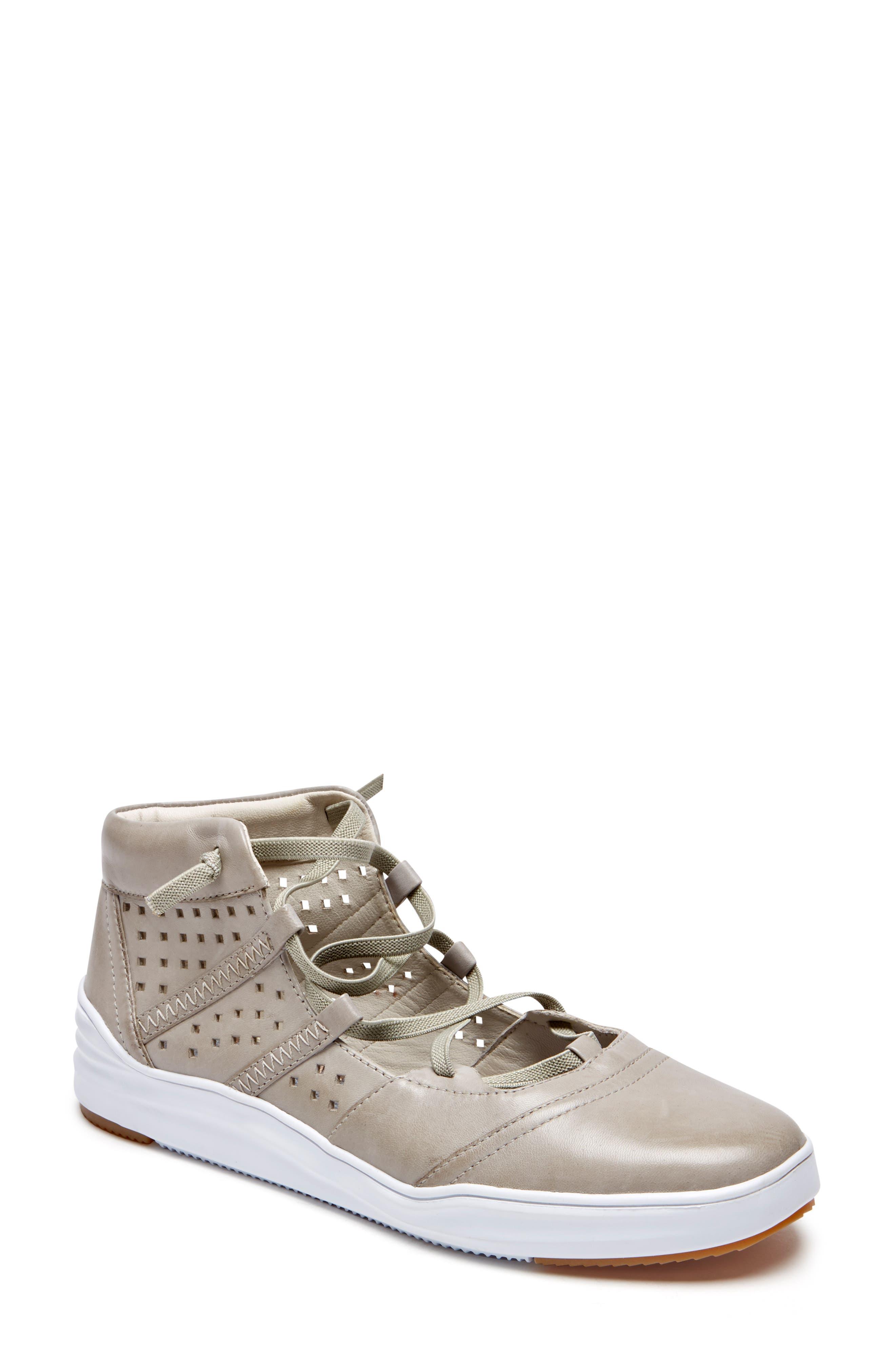 Rockport Cobb Hill Cady Gladiator Sneaker, Grey