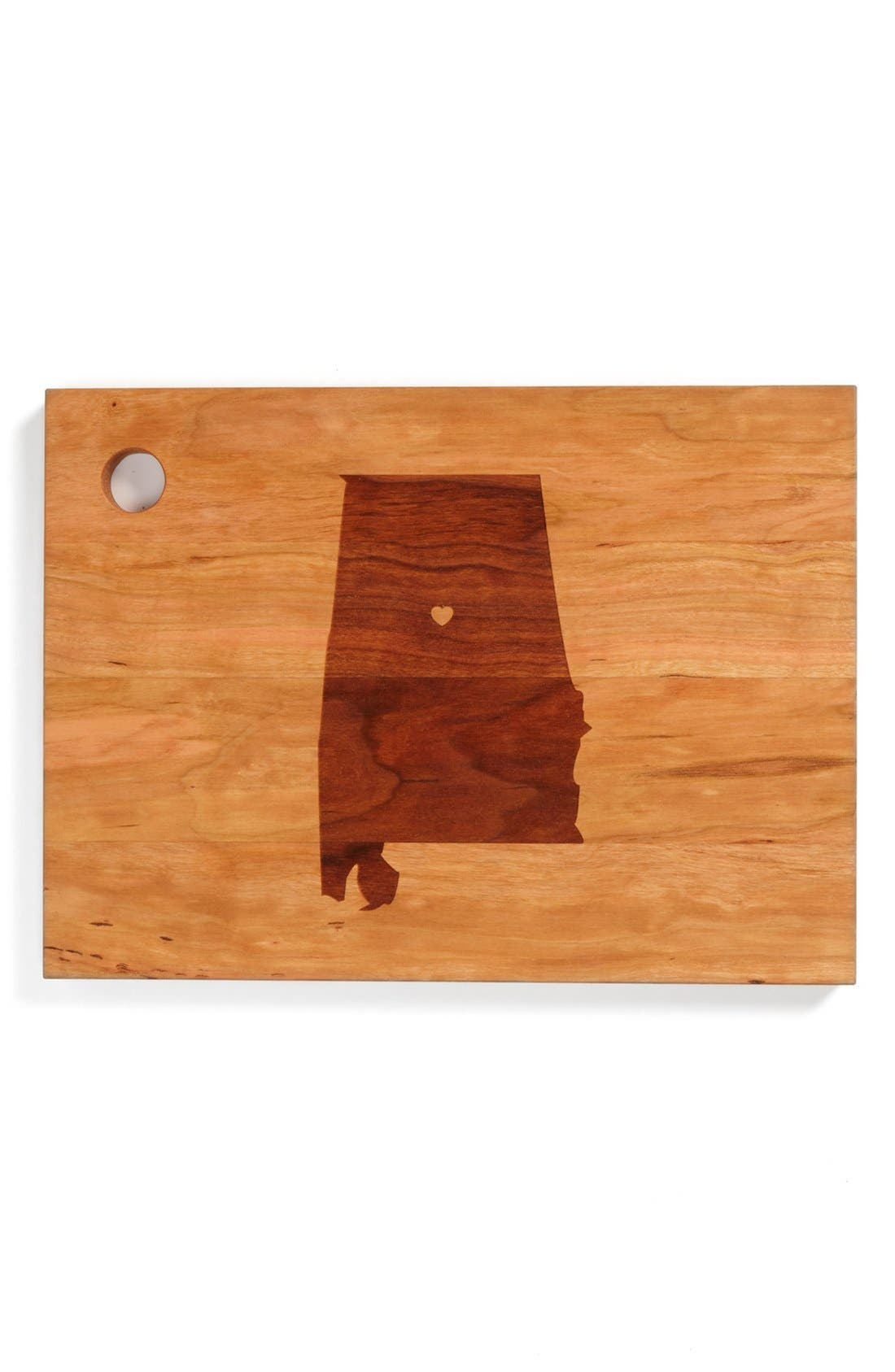 ,                             'State Silhouette' Cutting Board,                             Main thumbnail 1, color,                             200