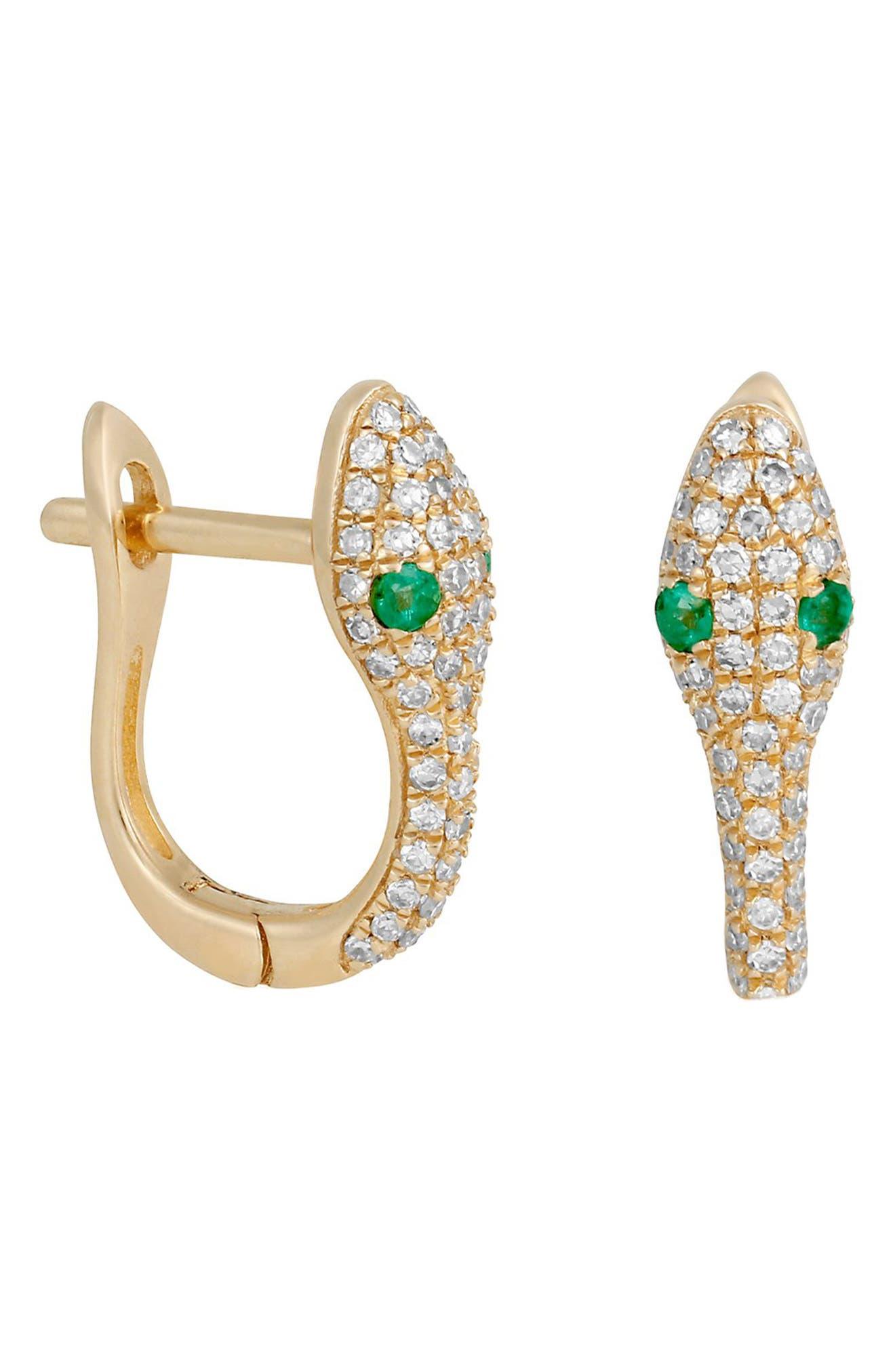 Viper Hoop Earrings