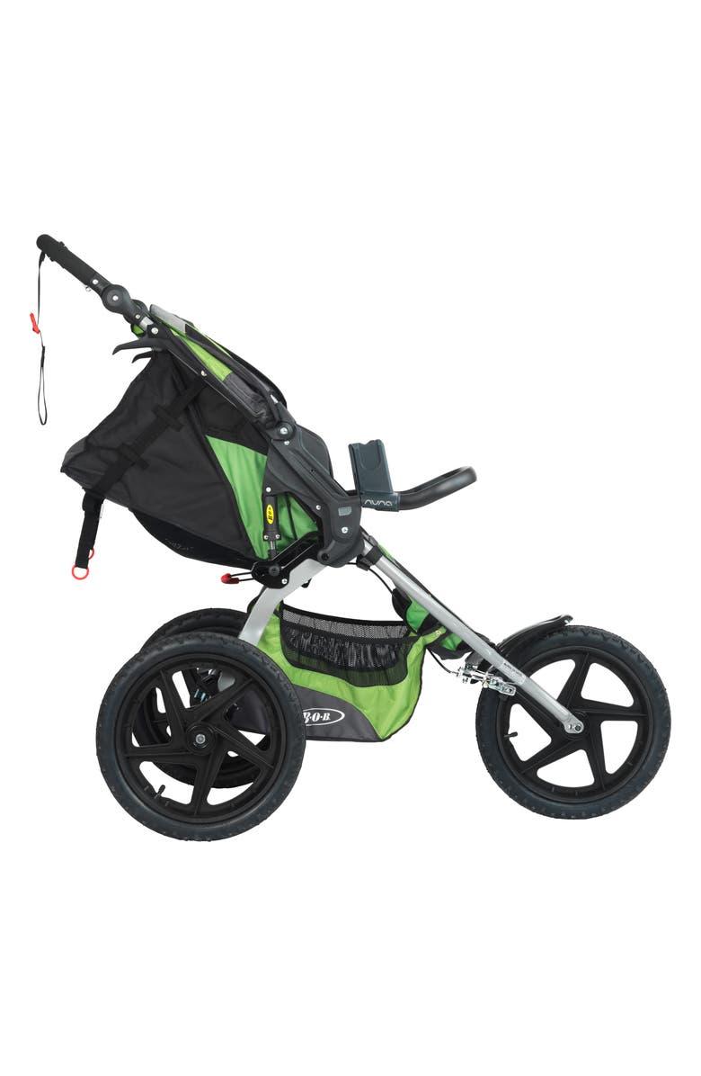 NUNA PIPA<sup>™</sup> Car Seat Adapter for BOB Single Strollers, Main, color, BLACK
