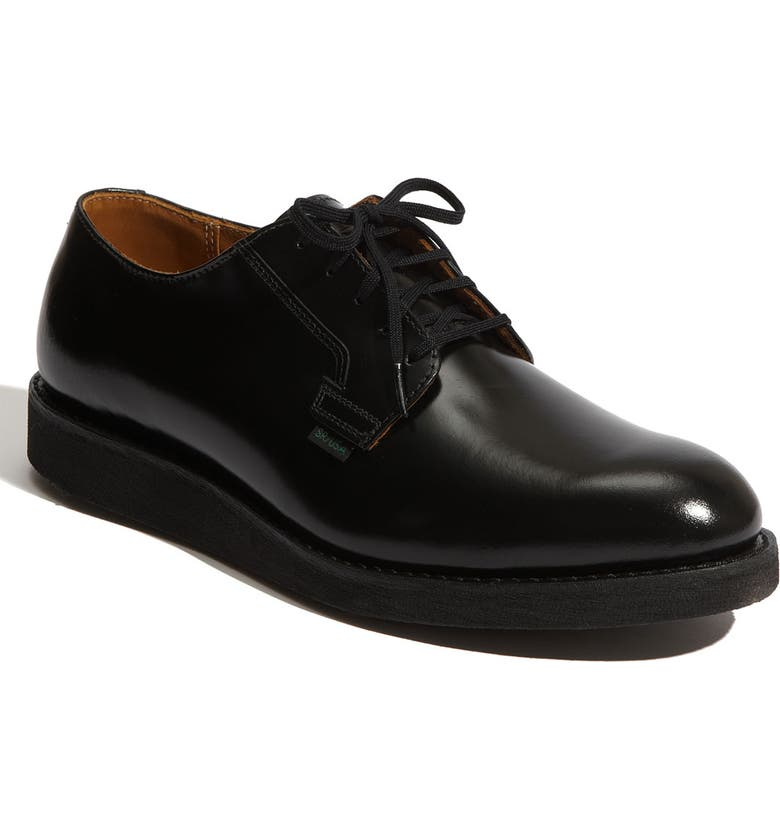 RED WING 'Postman' Oxford, Main, color, BLACK- 101