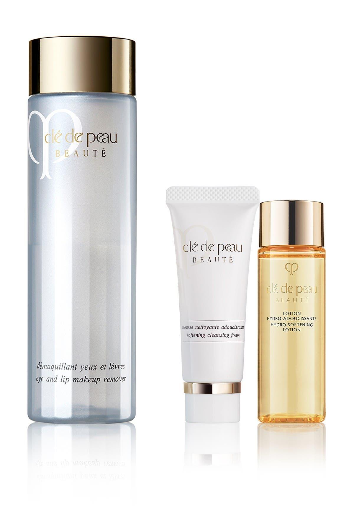 Image of CLE DE PEAU Beauté Eye and Lip Makeup Remover Set