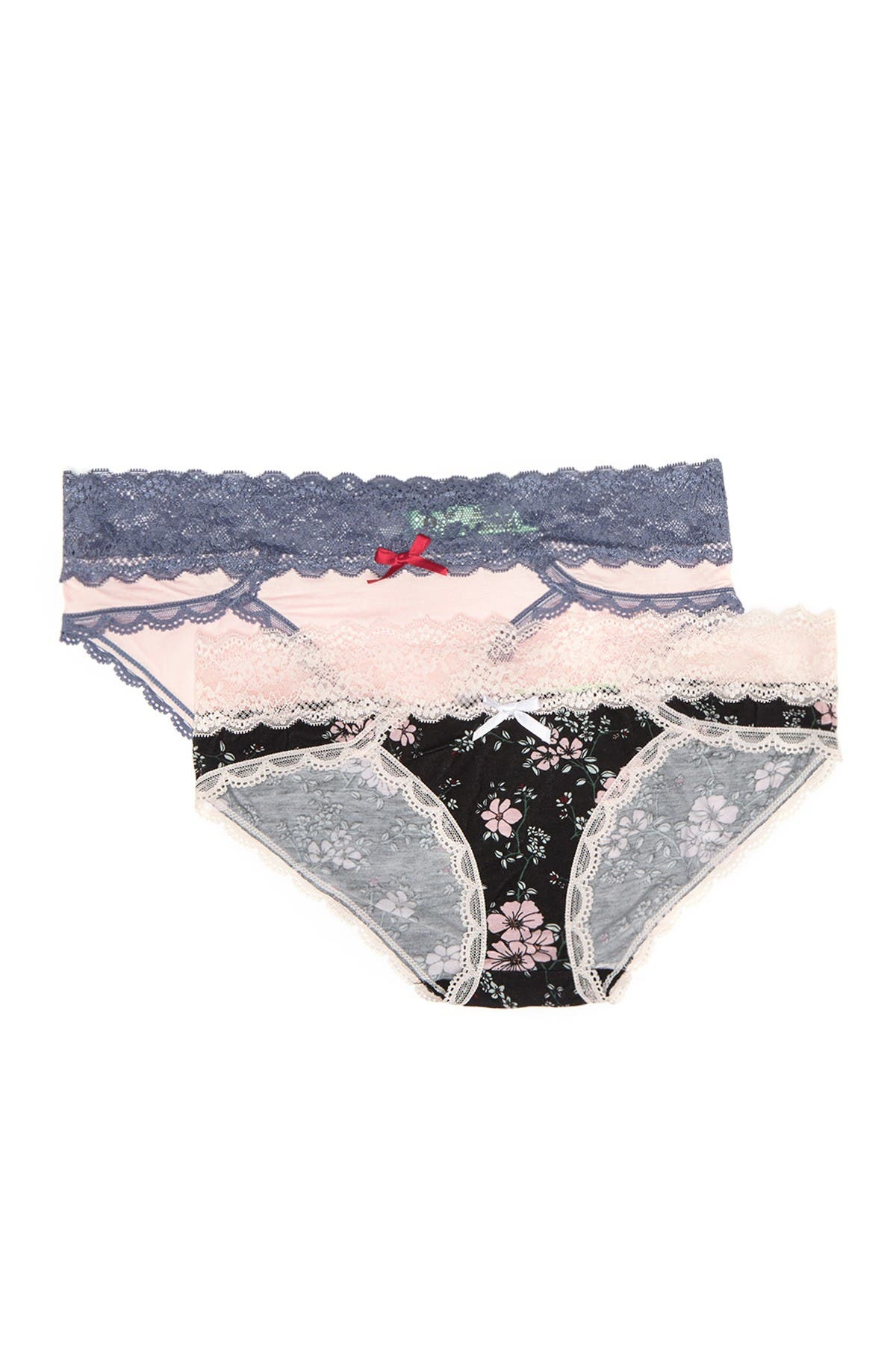 Image of Honeydew Intimates Ahna Lace Trim Hipster - Pack of 2