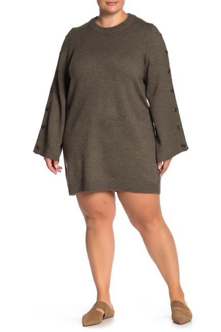 Image of Madewell Donegal Sweater Dress