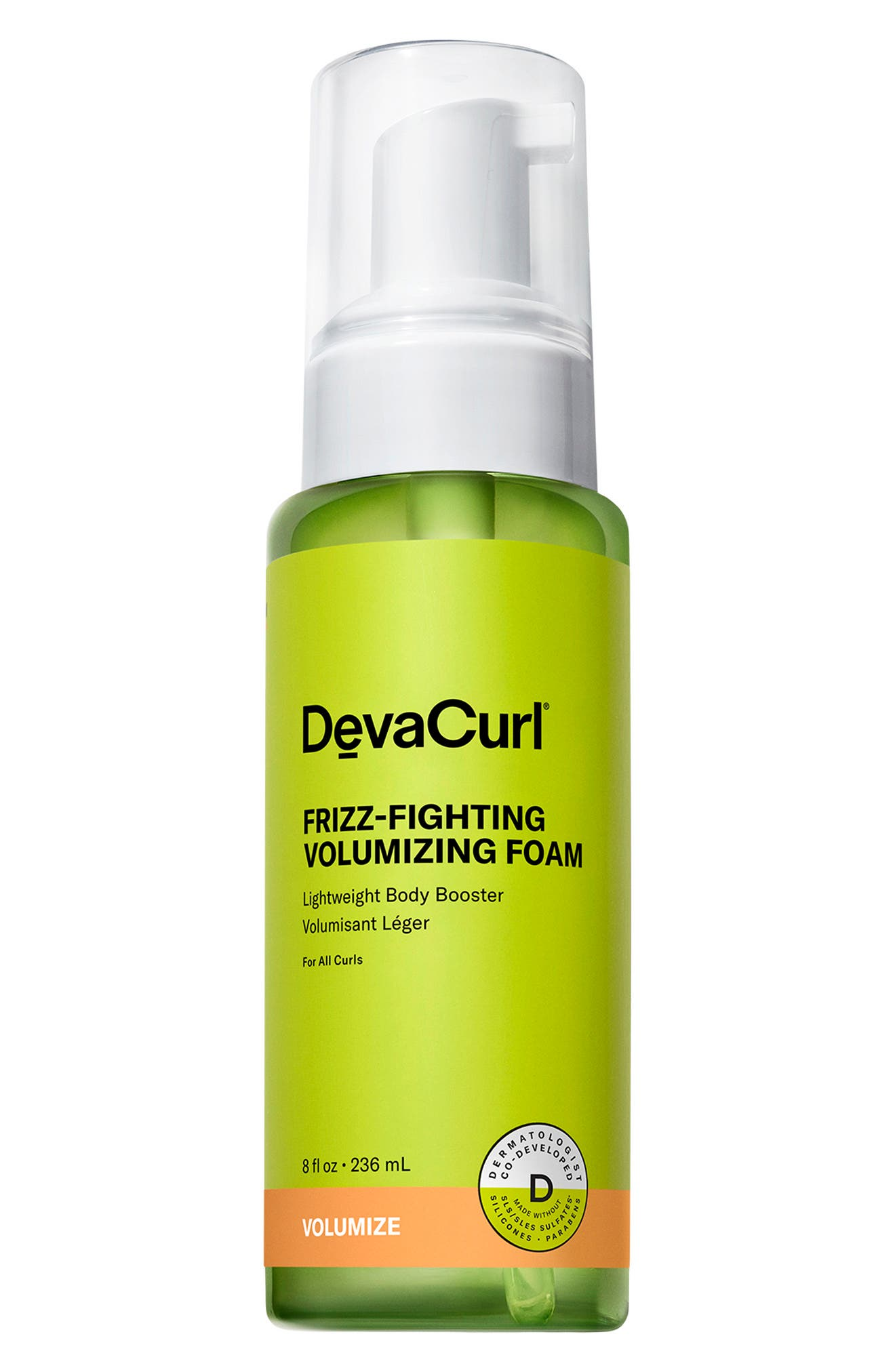 Frizz-Fighting Volumizing Foam