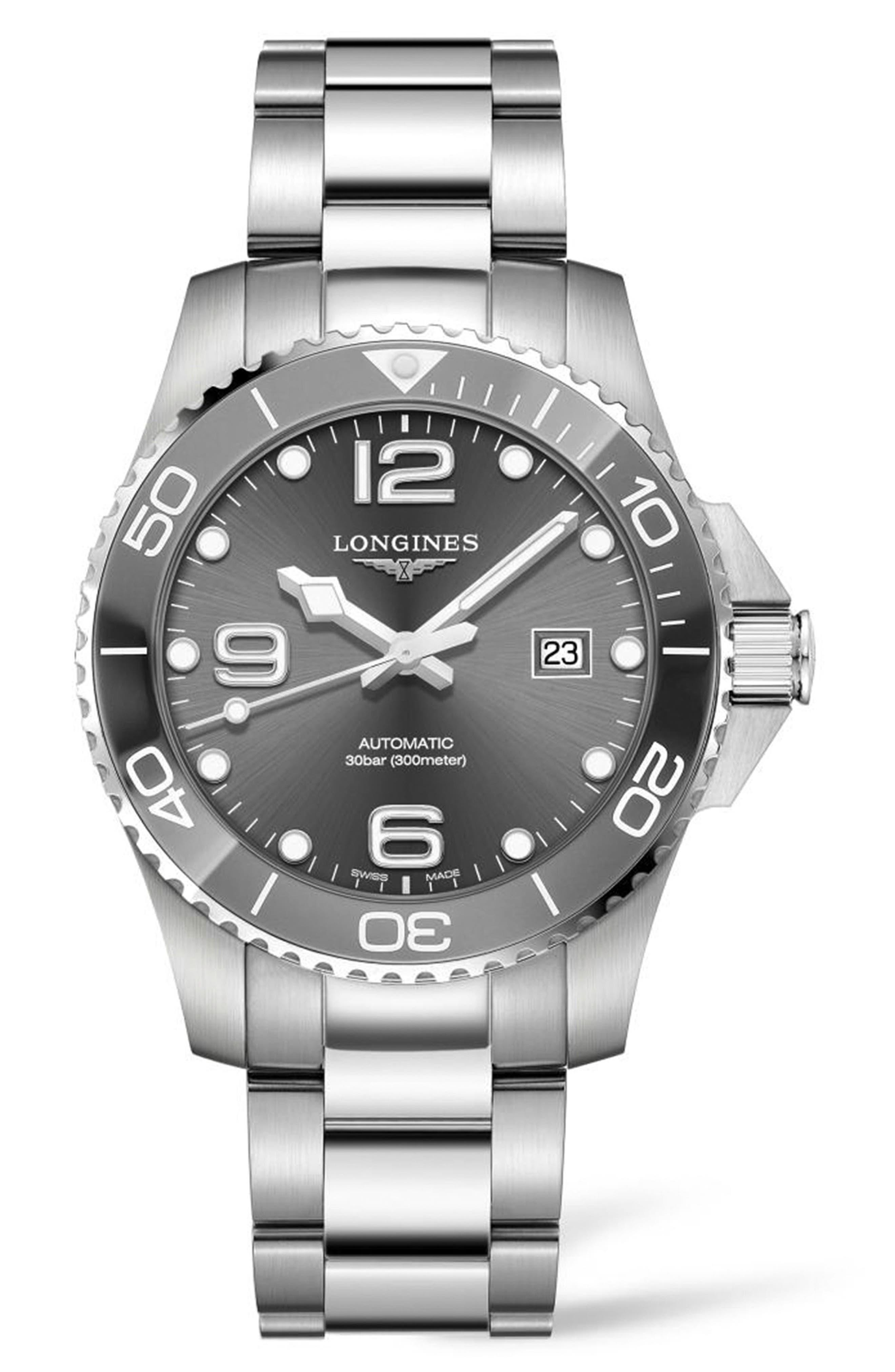 Hydroconquest Automatic Bracelet Watch