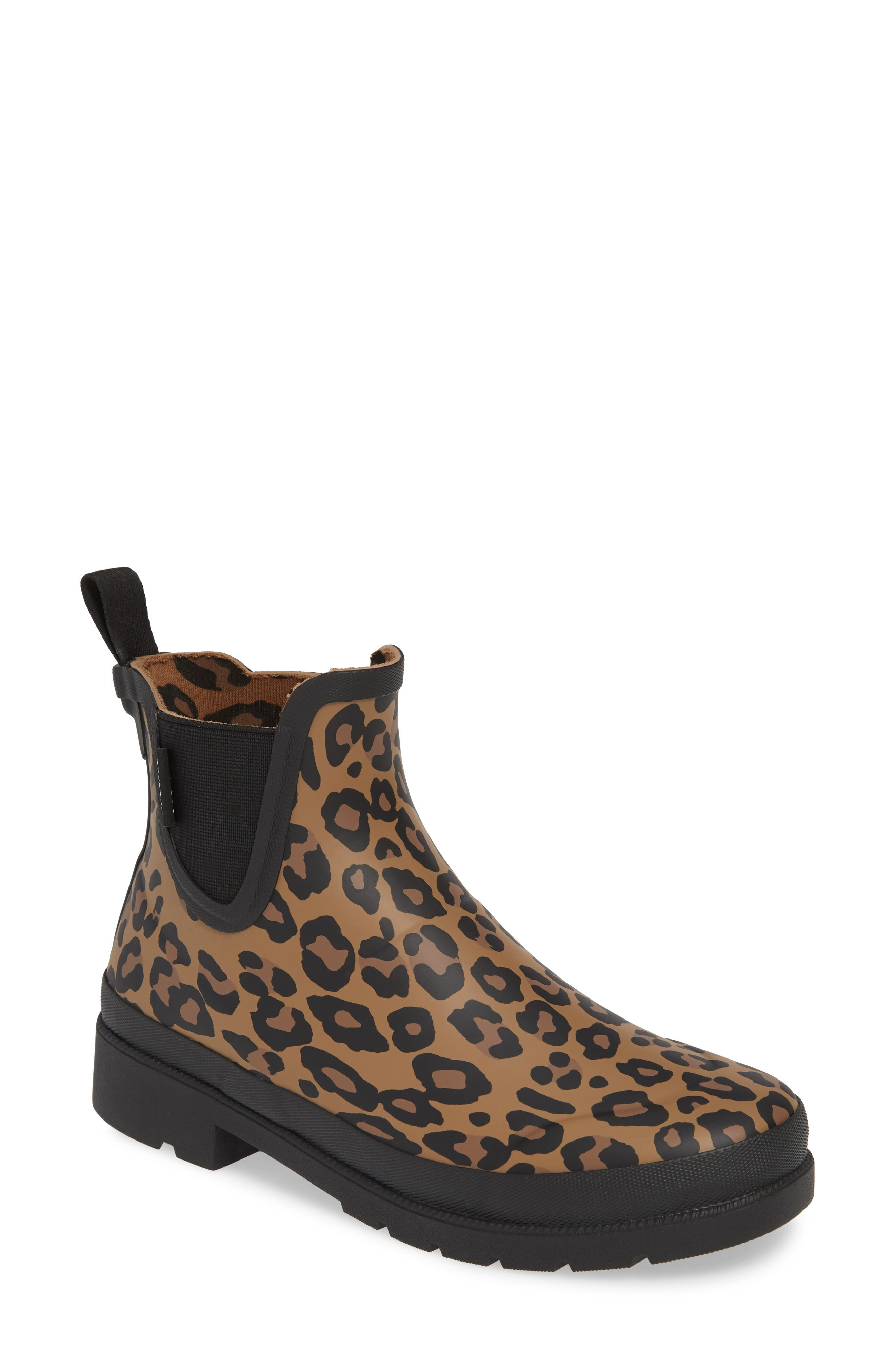 Tretorn Lina 2 Waterproof Chelsea Rain Boot, Black