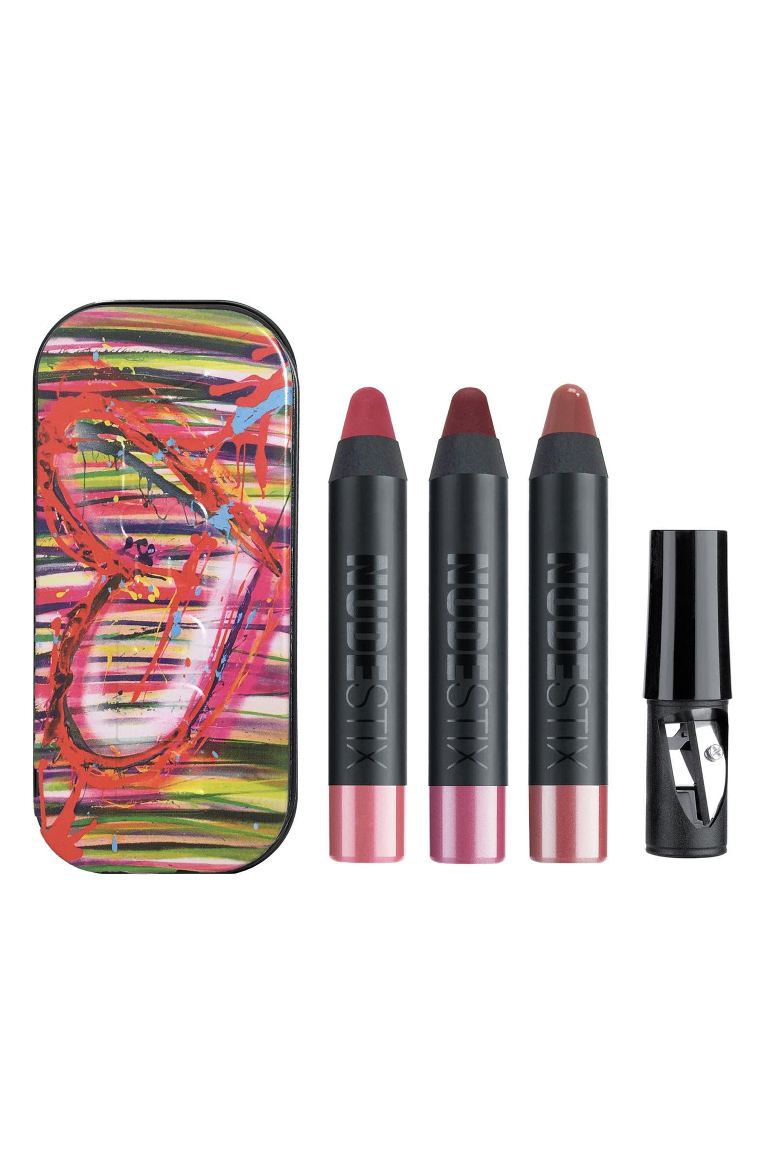 Mini Berry Nude Lip & Cheek Set NUDESTIX