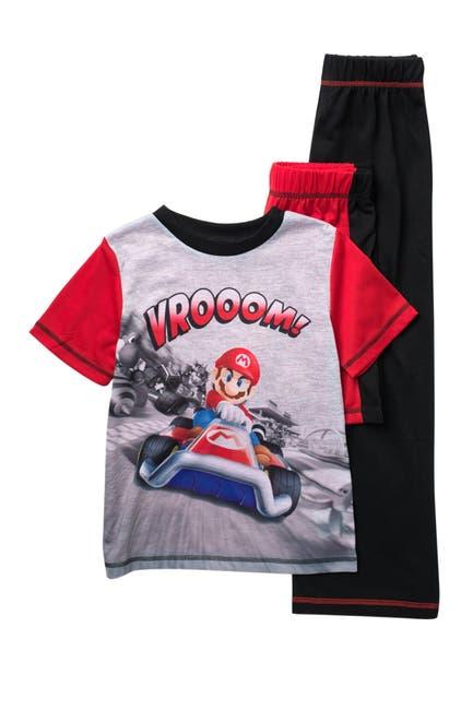 Image of Komar Mario Cart 3-Piece Pajama Set