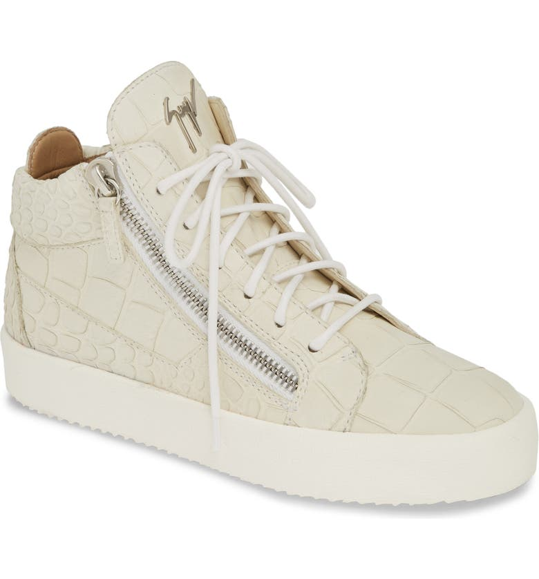 GIUSEPPE ZANOTTI May London Sneaker, Main, color, IVORY