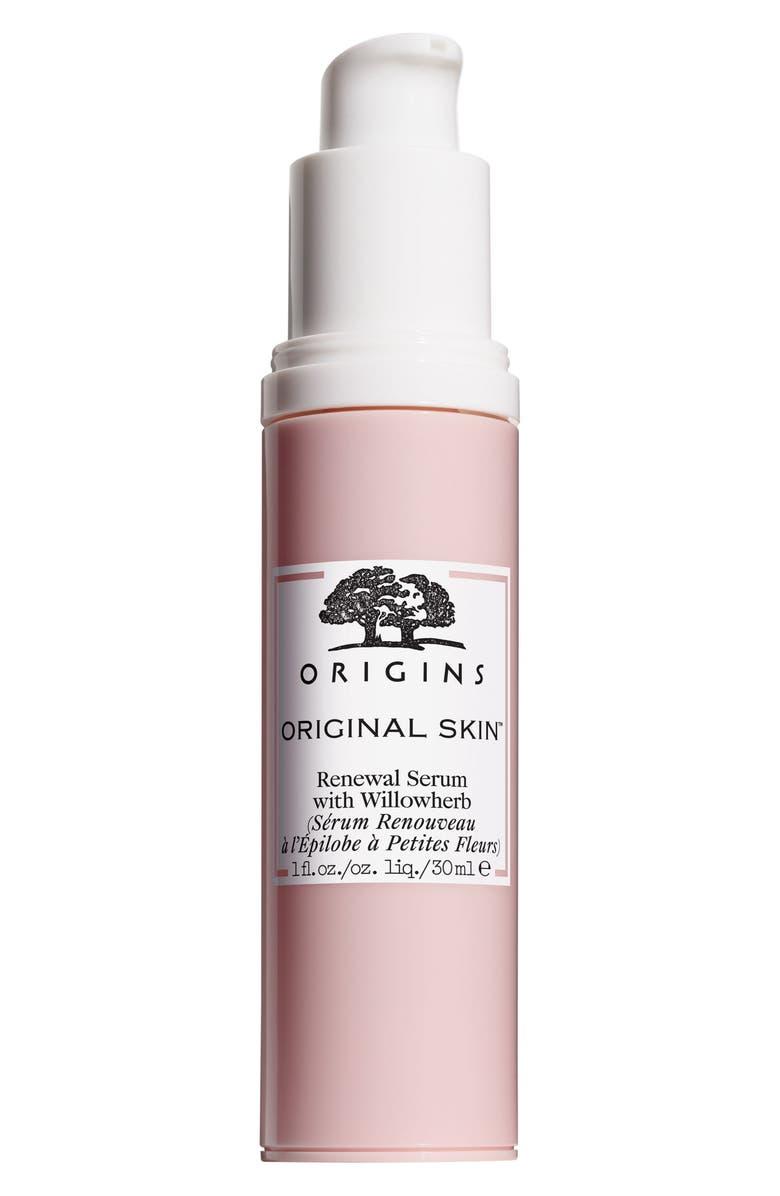 ORIGINS Original Skin<sup>™</sup> Renewal Serum with Willowherb, Main, color, NO COLOR