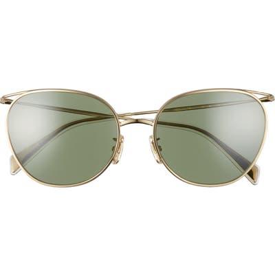 Celine Mineral 55mm Cat Eye Sunglasses - Gold/ Green