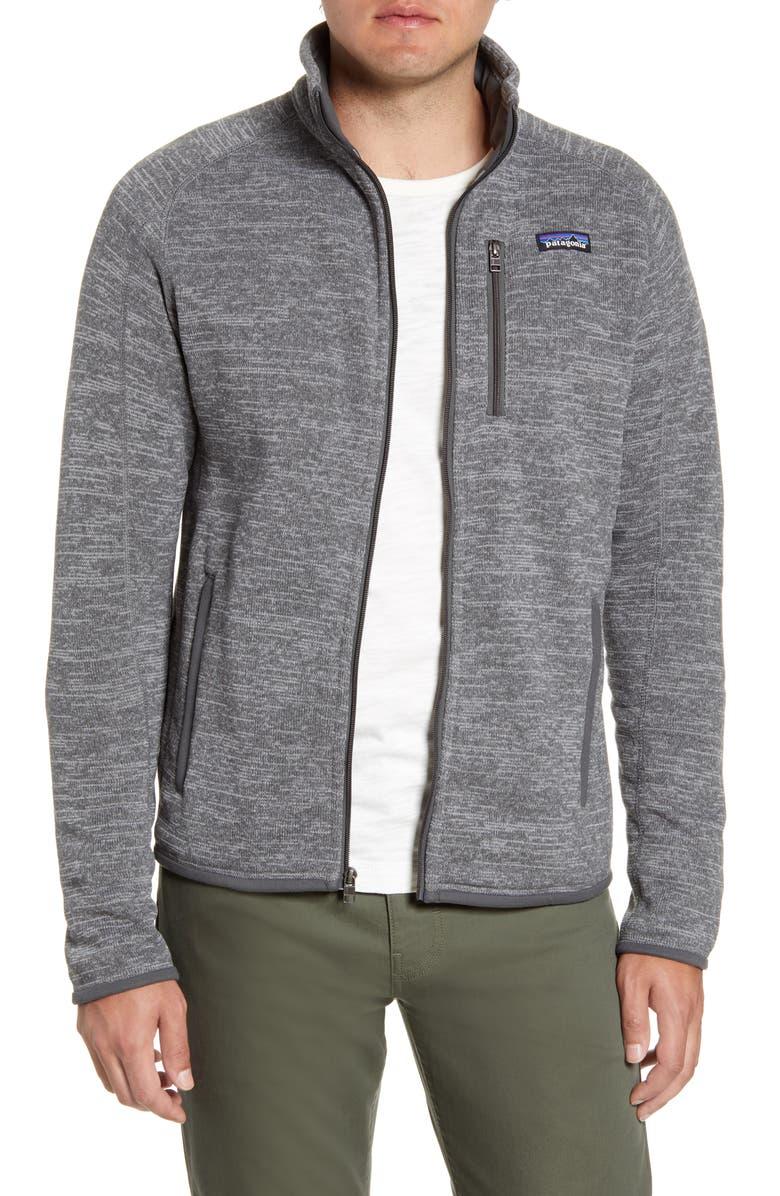 PATAGONIA Better Sweater<sup>®</sup> Zip Jacket, Main, color, NICKEL