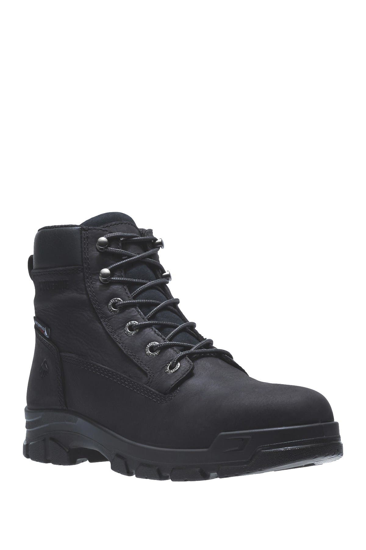 Image of Wolverine Chainhand Waterproof Leather Work Boot - Extra Wide Width Available