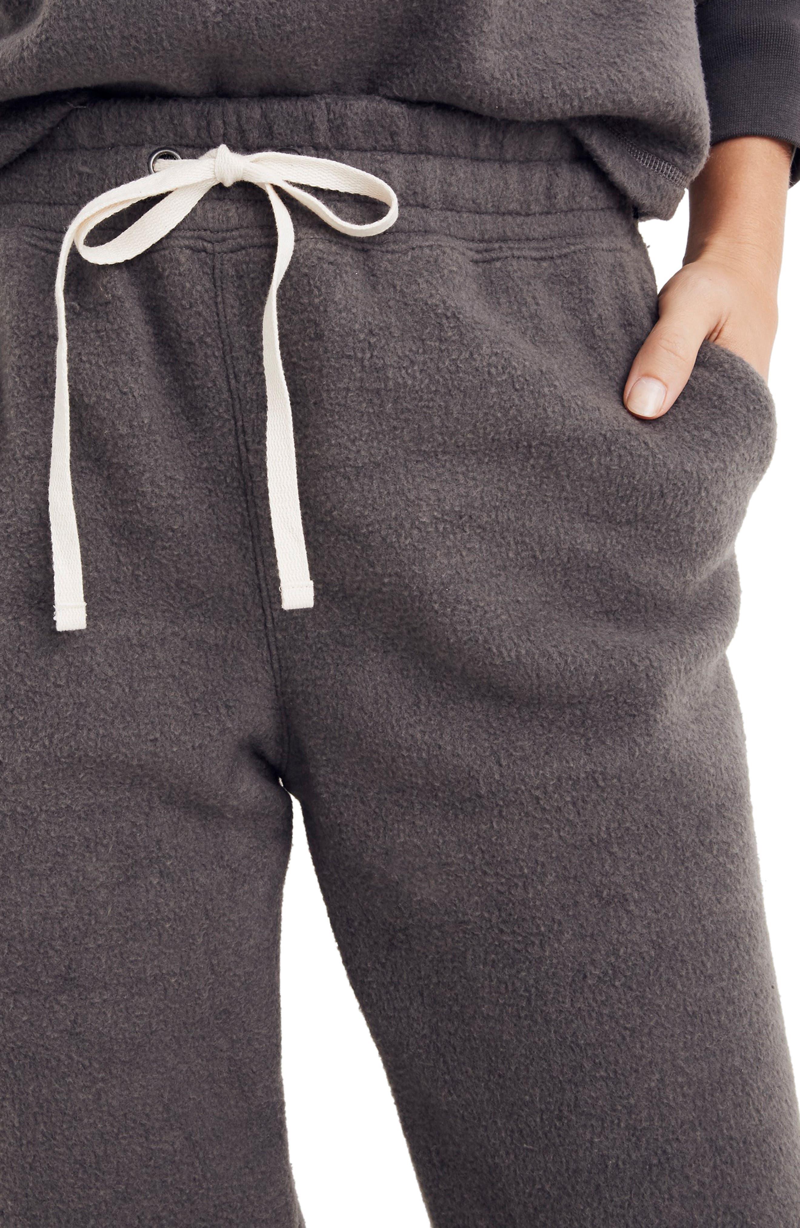 ,                             Fleece Pajama Sweatpants,                             Alternate thumbnail 4, color,                             020