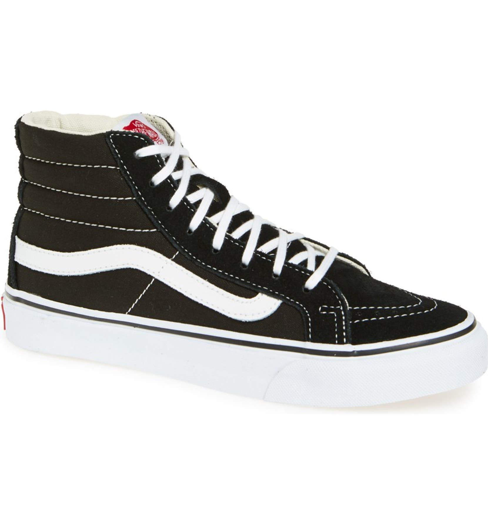 5c1029733 Vans Sk8-Hi Slim High Top Sneaker (Women)