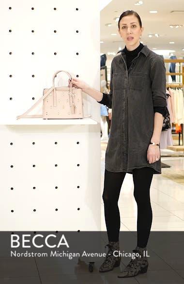 medium margaux embellished leather satchel, sales video thumbnail