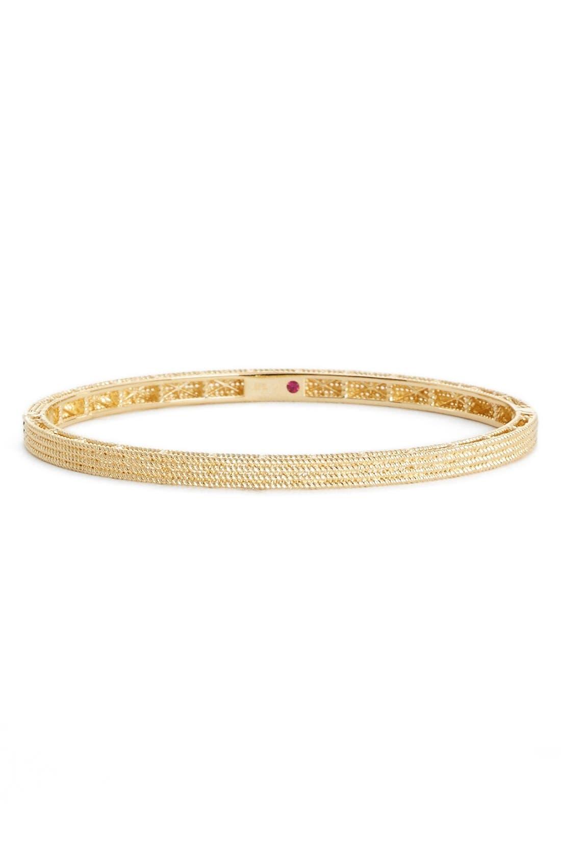 'Symphony - Barocco' Bangle Bracelet, Main, color, 710