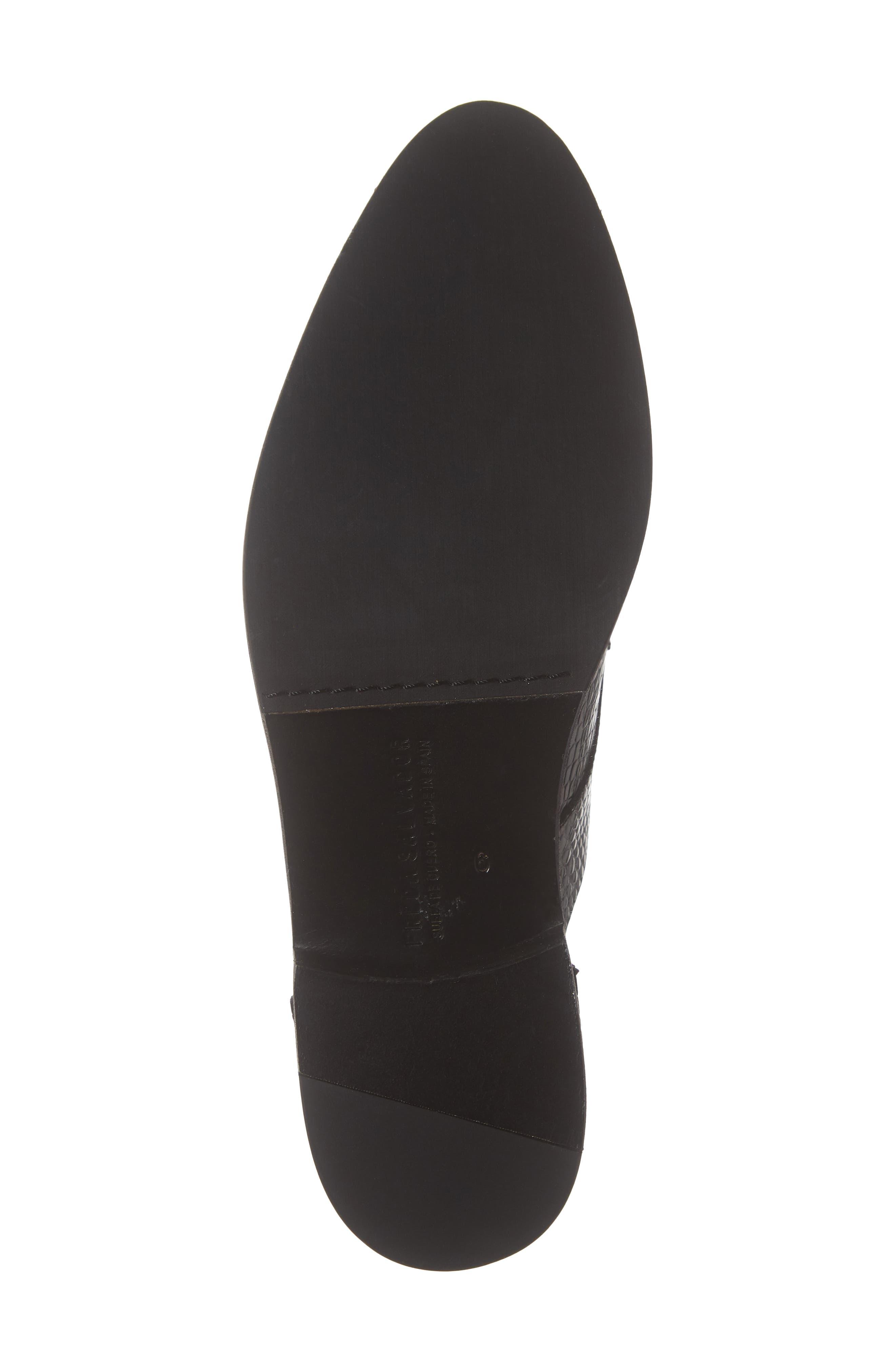 ,                             Wear d'Orsay Laceless Derby,                             Alternate thumbnail 6, color,                             BLACK CROC