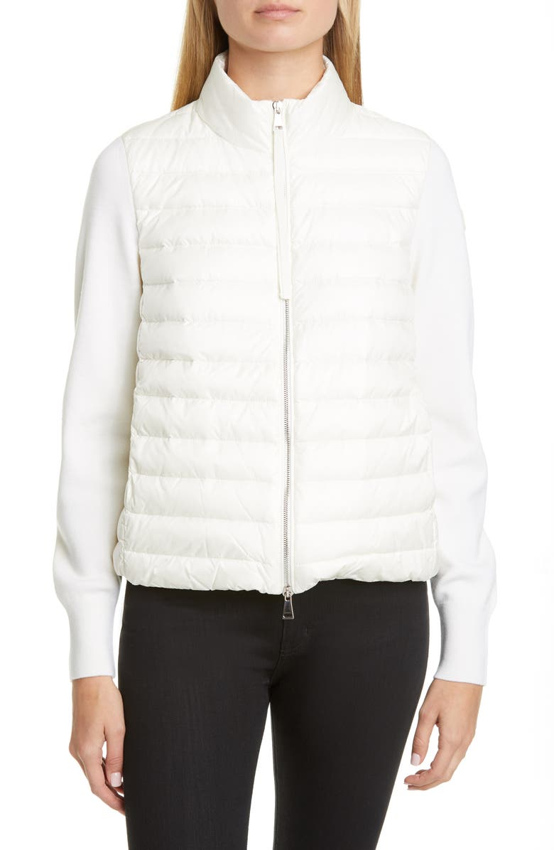 Quilted Down & Wool Short Jacket by Moncler