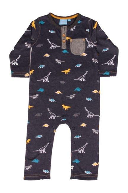Image of BEAR CAMP Dino Print Long Sleeve Bodysuit
