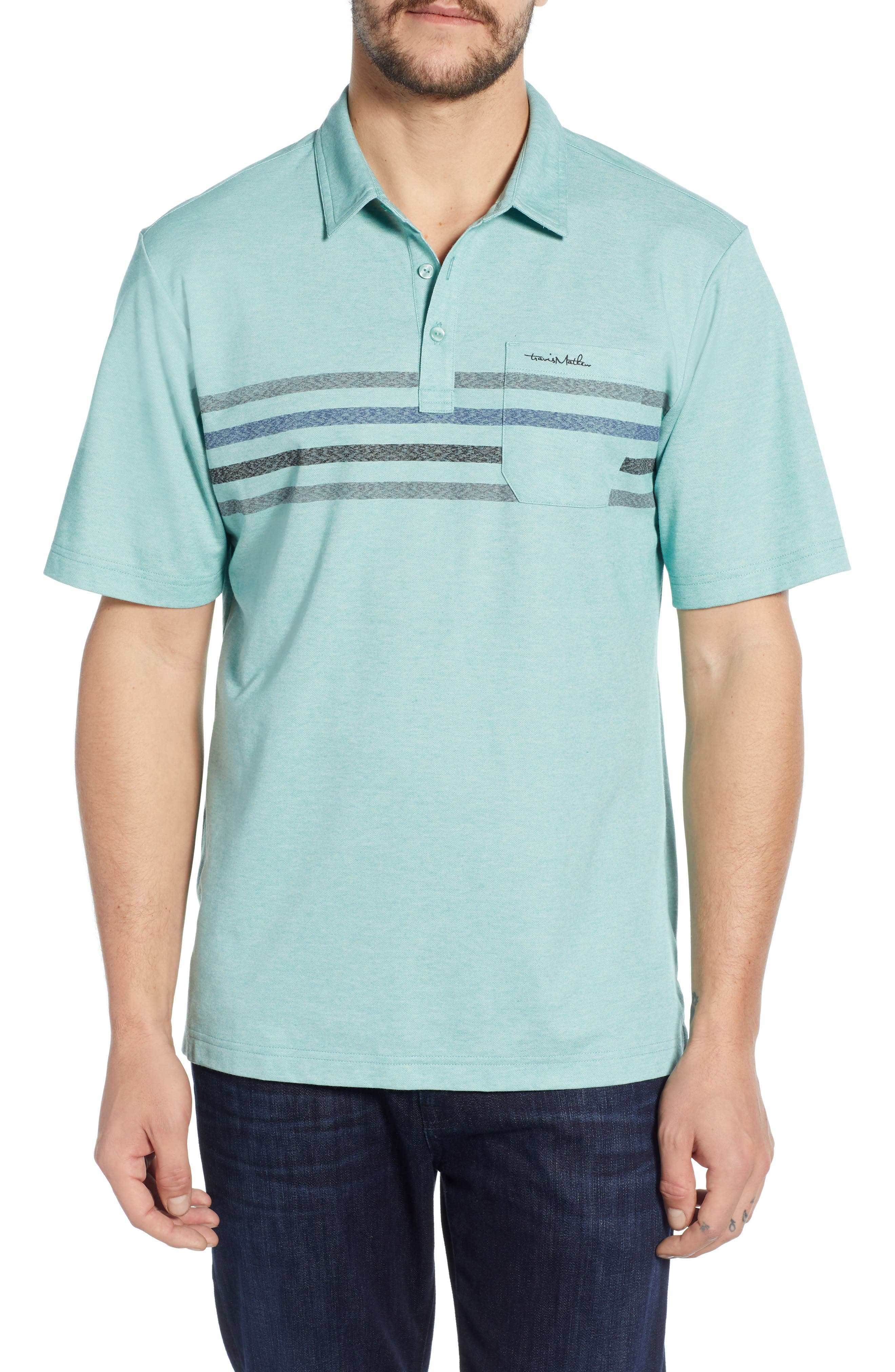 Oh Snap Regular Fit Performance Polo, Main, color, HEATHER BERYL GREEN