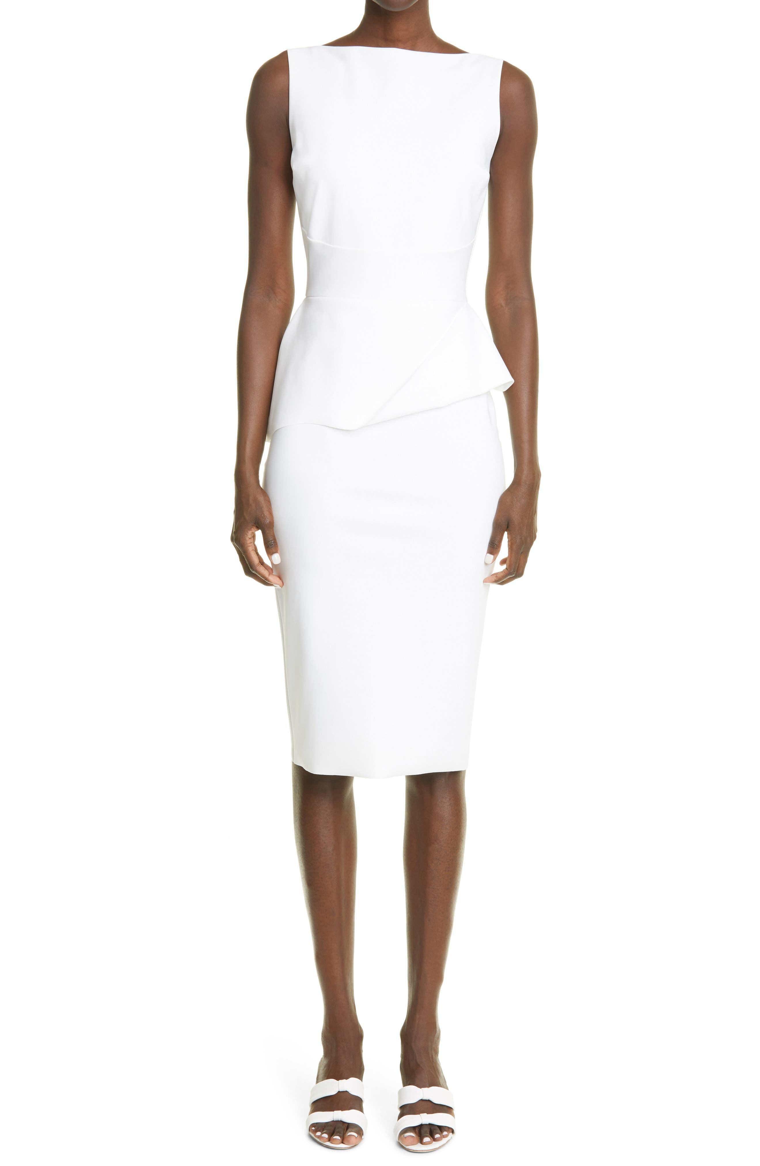 Keleigh Peplum Body-Con Dress