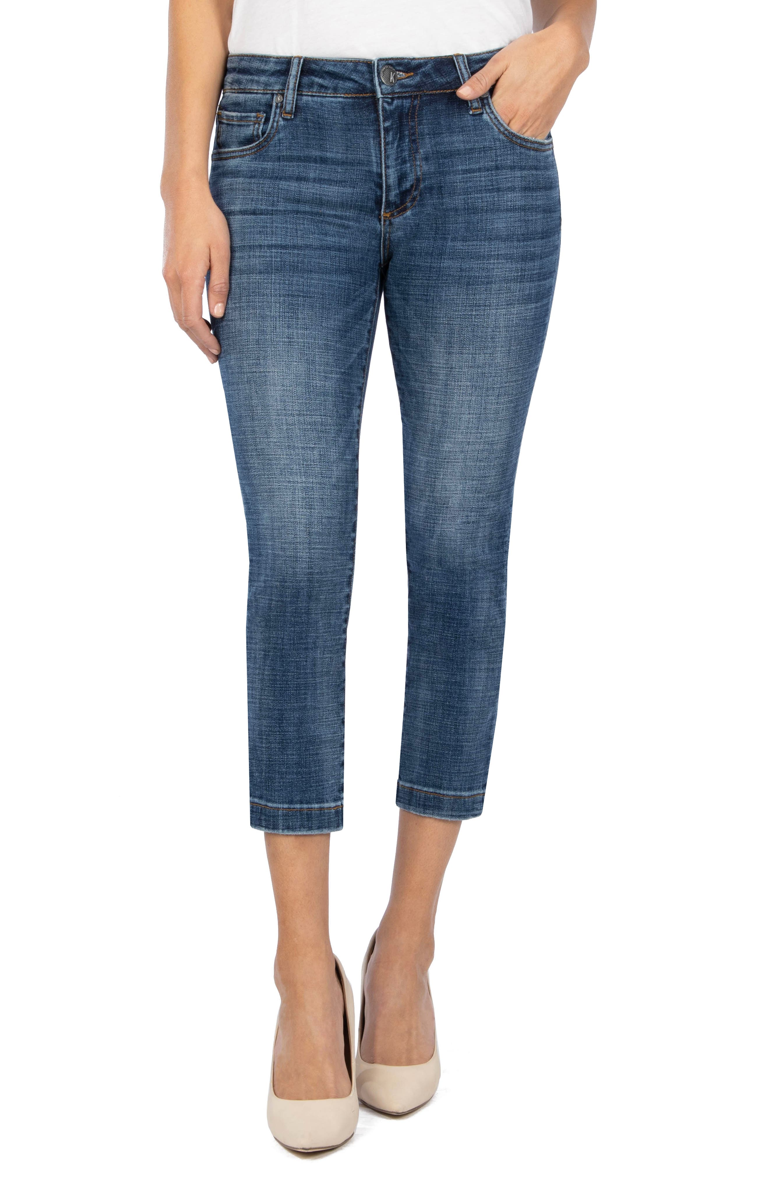 Lauren Crop Straight Leg Jeans