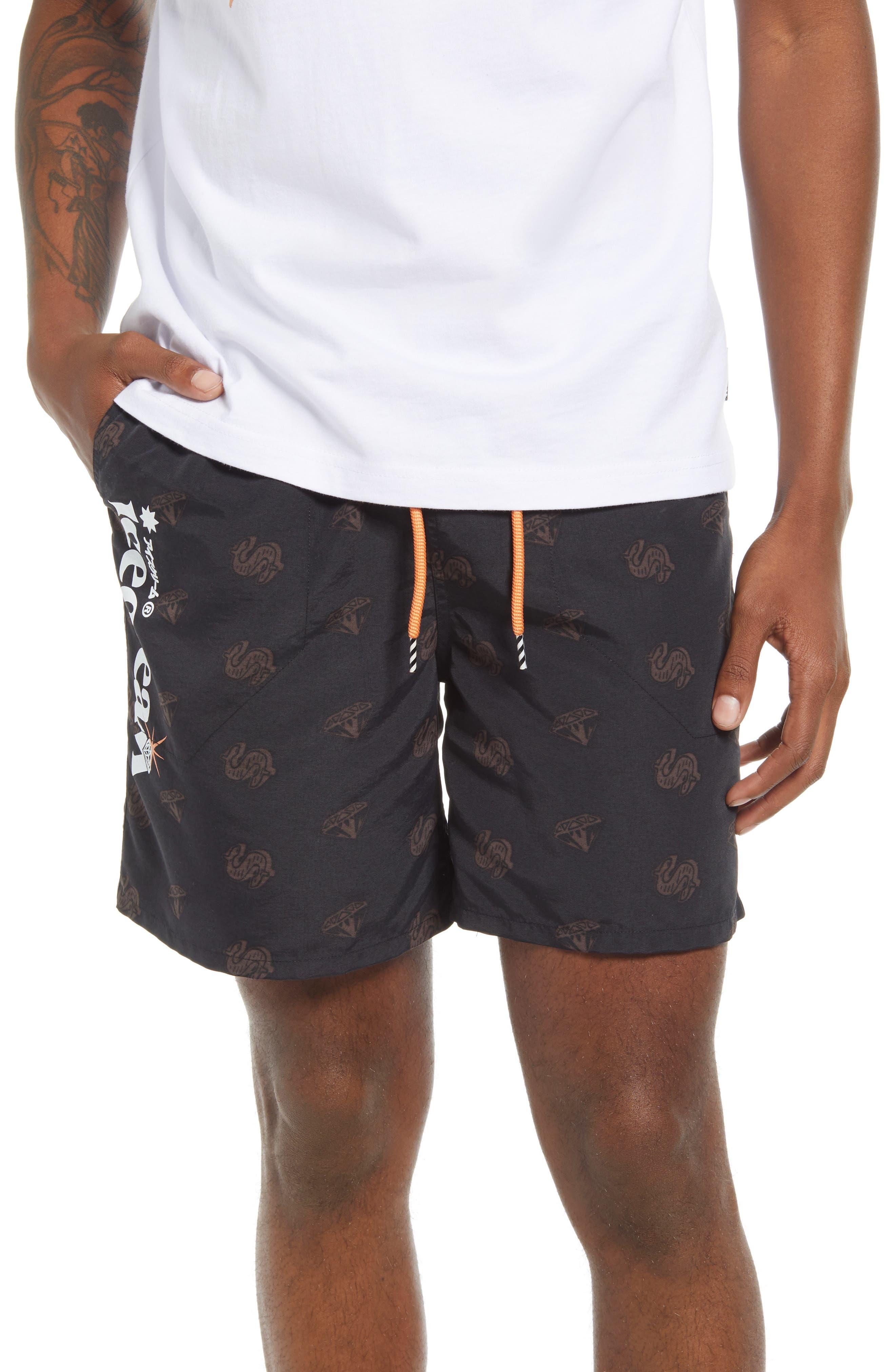 Men's Cream Shorts
