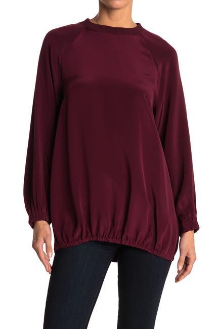 Image of Tibi Silk Sweatshirt