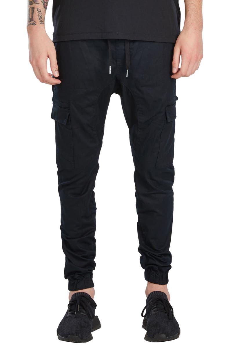 ZANEROBE Sureshot Cargo Jogger Pants, Main, color, 001